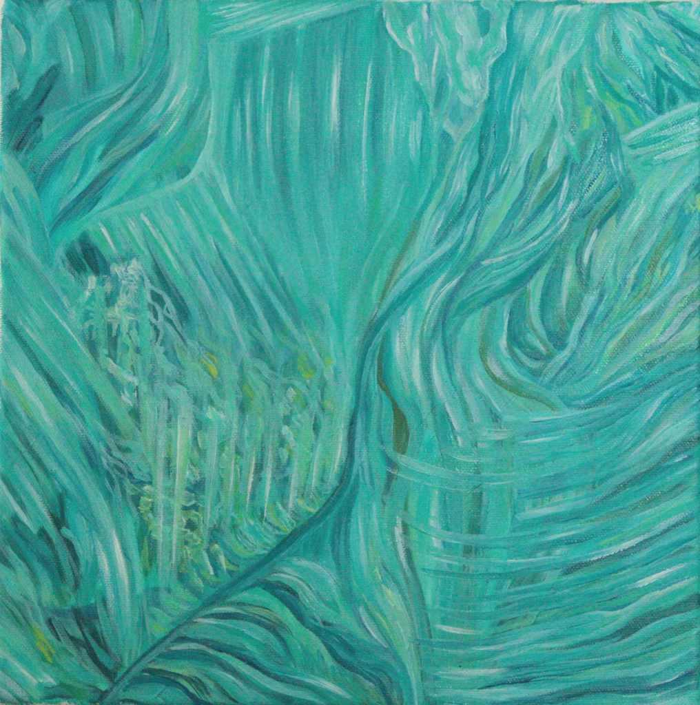 Anastasia Lobkovski, Flow of life, oil painting 2021