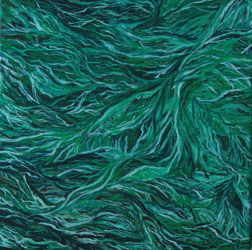 Anastasia Lobkovski, Formation, oil painting 2021